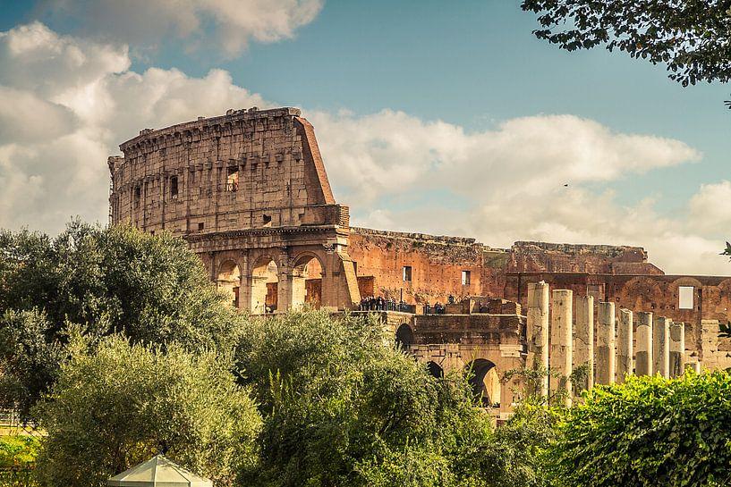 Het Colosseum  (Colosseo) in Rome van Justin Suijk