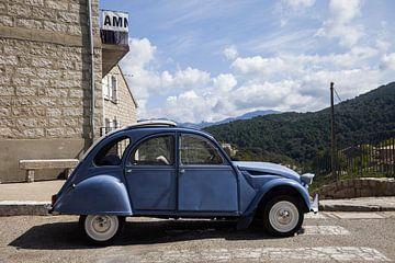 2CV op Corsica, Frankrijk van Rosanne Langenberg