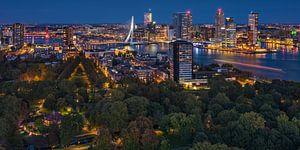 Rotterdam panorama | Kop van Zuid | Euromast van