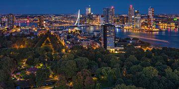 Rotterdam panorama | Kop van Zuid | Euromast von Rob de Voogd / zzapback
