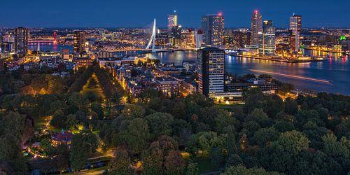 Rotterdam panorama | Kop van Zuid | Euromast von