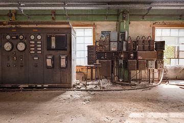 Bedieningskamer Fabriek van
