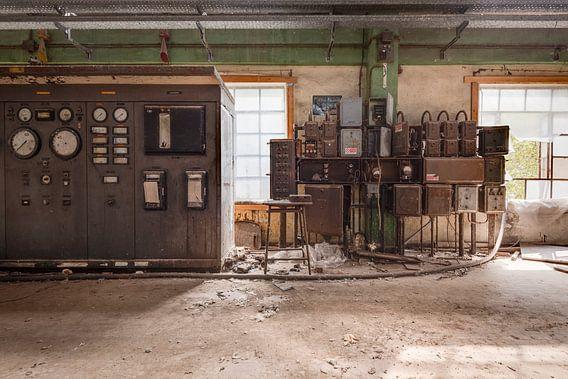 Bedieningskamer Fabriek van Perry Wiertz