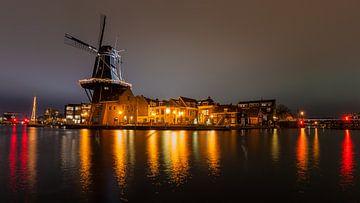 Molen de Adriaan, Haarlem centrum