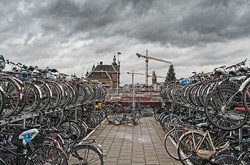 fietsen van Willem  Overkleeft