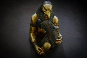 Skulptur Pharao von Arash Mahdawi Nader