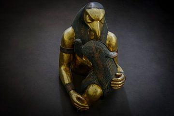 Beeldhouwwerk Farao van Arash Mahdawi Nader