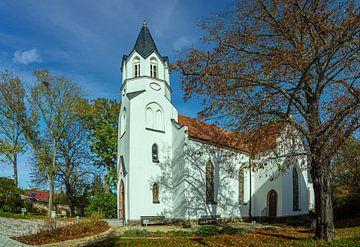 Kirche nähe Leipzig von Johnny Flash