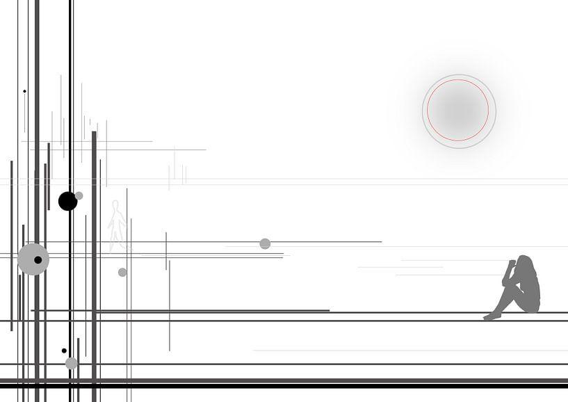 abstract lines #1 van David Berkhoff