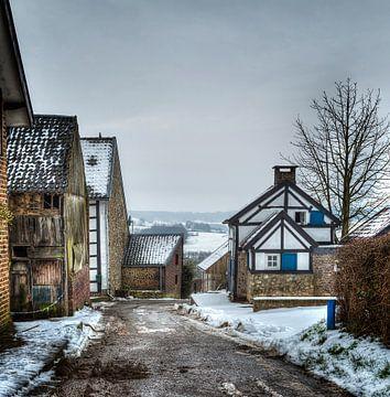 Limburgs winterlandschap von Wim Roebroek