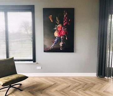 "Klantfoto: Royal Flora ""Romance"" bloemstilleven"