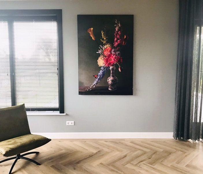 """Kundenfoto: Königliche Flora """"Romantik von Sander Van Laar"""