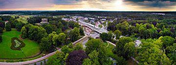 Bahnhof Driebergen Zeist aus der Luft von Mel Boas