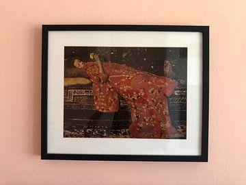Kundenfoto: George Hendrik Breitner. Mädchen im roten Kimono