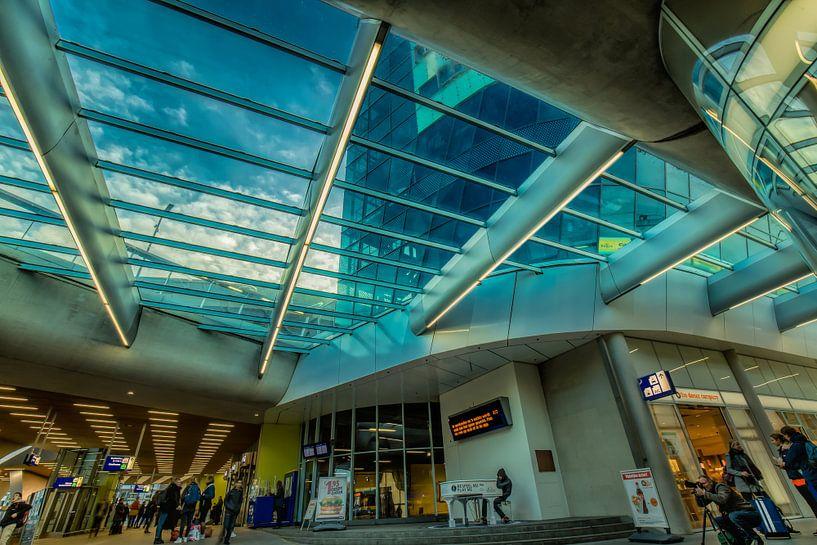 Centraal station Arnhem van Above The Grid