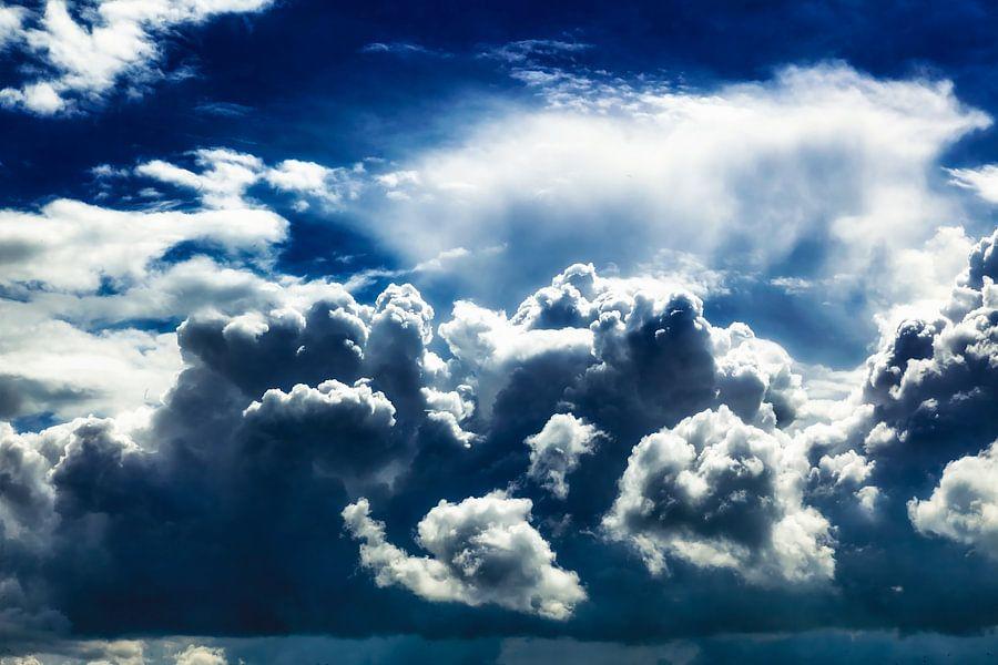 Zomers onweer van Jan vd Knaap