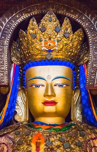 Boeddha in Palcho klooster, Tibet