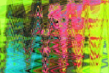 Kunstdruck, Muster, Farben von ines meyer