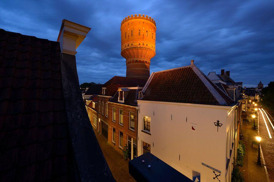 Watertoren Lauwerhof in Utrecht van Donker Utrecht