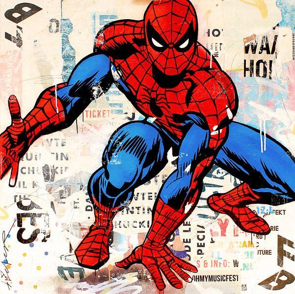 Spiderman van Michiel Folkers