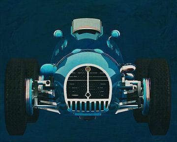 Gordini T16 Grand Prix 1952 Voorkant