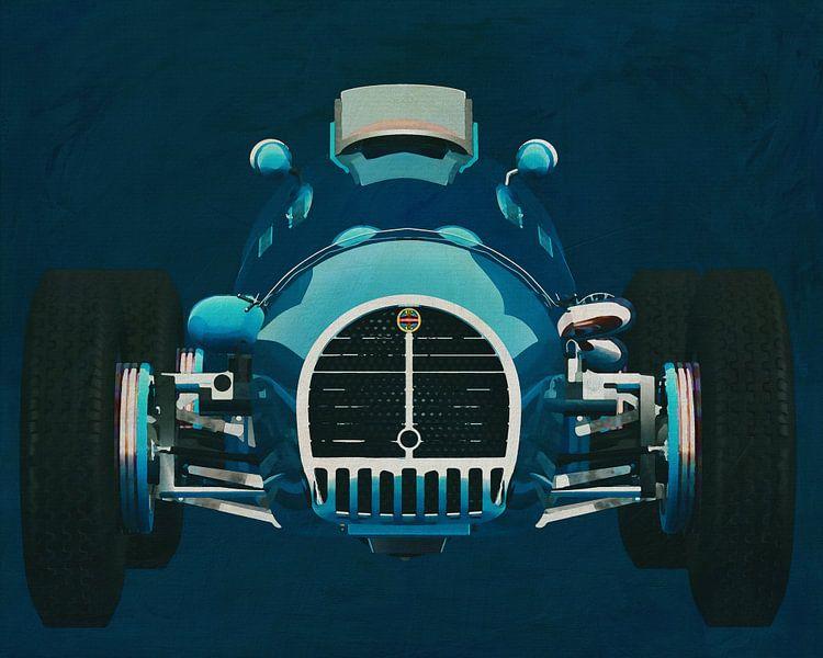 Gordini T16 Grand Prix 1952 Voorkant van Jan Keteleer