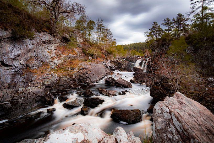 Rogie Falls - Schotse hooglanden van Remco Bosshard