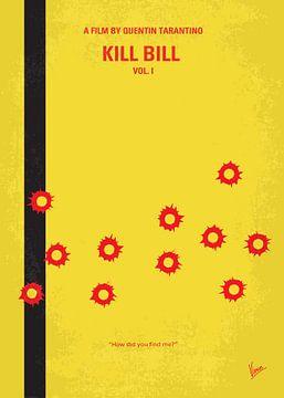 No048 My Kill Bill - part 1 minimal movie poster van Chungkong Art