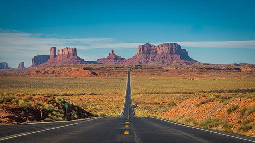 Monument Valley Arizona USA van