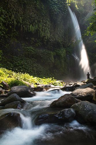 Waterval op Lombok van