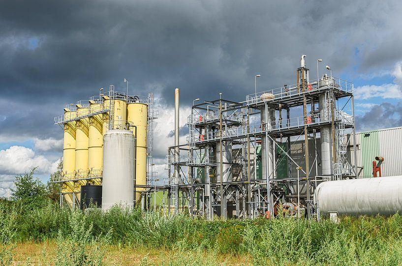Industrie in Drunen van Mark Bolijn