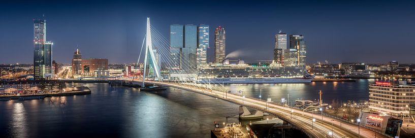 Rotterdam Rush Hour van Niels Dam