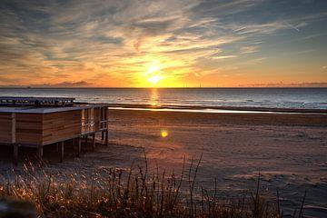 Sunset beach Egmond van Zilte C fotografie