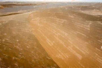 Düne in der Sahara von Frank Heinz