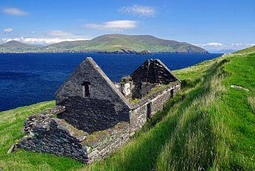 Deserted houses on Blasket Islands sur Reinhard  Pantke