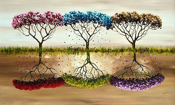 Seasons van Gena Theheartofart