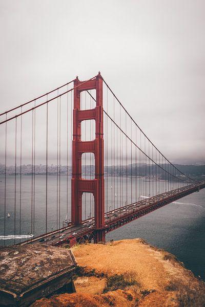 Golden Gate Bridge  van Niels Keekstra