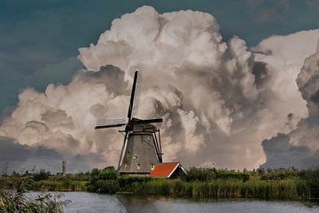 Kinderdijk Mills, Kinderdijk, The Netherlands van Maarten Kost
