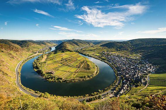 Boucle de la Moselle près de Bremm