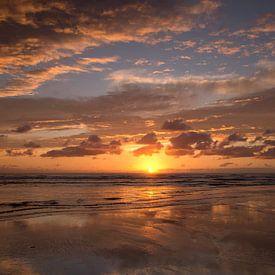 Soiree a la plage sur Barbara Brolsma