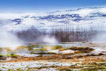 IJSLAND Warmwaterbronnen van Melanie Viola