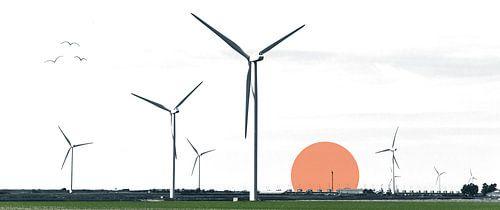 Artificial sunrise van Niels Eric Fotografie