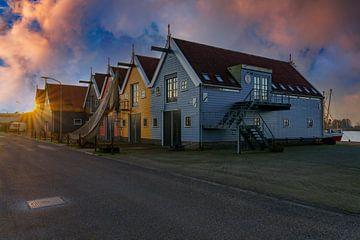Hafengebiet von Zoutkamp 2 von Marcel Kieffer