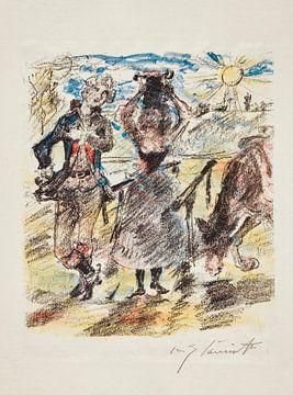 Bürger, G. A., Königin von Golcony, LOVIS CORINTH, 1921. von Atelier Liesjes