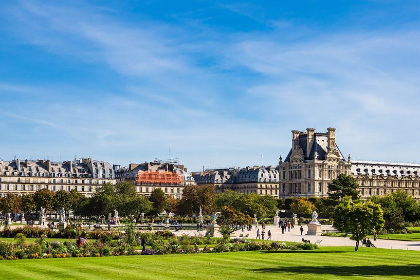 View to the Jardin des Tuileries in Paris, France van Rico Ködder