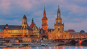 Die Kathedrale von Dresden von Henk Meijer Photography