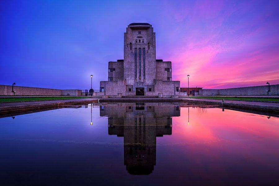 Radio Kootwijk Sunset van Joram Janssen