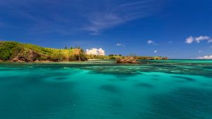 Nacula eiland in Fiji