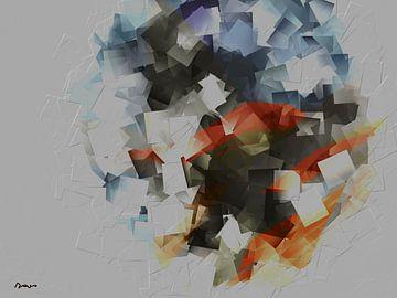 Abstraheren - Herbststrauß. von SydWyn Art