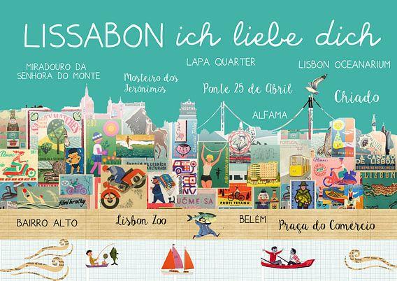 Lissabon – Ich liebe Dich van Green Nest